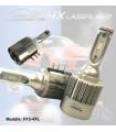 H15 LED 12v - Haute Performance 3800 lm, Blanc, Ampoules LED de remplacement,  Plug & Play pour  VW-AUDI, Mercedes