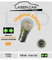 P21w_SF, LED 6 -12v, 1156, BA15s, Ampoule  auto-clignotant  - Uniquement Clignotant - Orange
