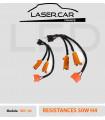 2 RESISTANCES 20w  H4 LED -  Anti-erreur / Warning Canceller