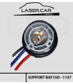 SUPPORT de lampe  1157 / P21/5w / BAY15d- câblé