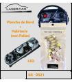 Kit LED habitacle et Planche de bord -  DS Citroen - 1968_75