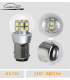 AMPOULE LED auto P21/5w , 6v a 12V, BAY15D, 1157 POSITION/STOP, LED LASER CAR, LASERCAR