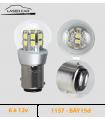 P21/5w LED 1157, 6v à 12 v - Série 3D