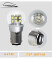 P21/5w LED 1157, 6v à 24 v - Série 3D PRO