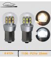 P21w, 1156 LED 6v à 12v. Série 3D