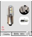 BA9s LED, T4w, 80LM, Série 3D