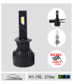 H1 LED,  7xl 210w* RACING - CAN BUS