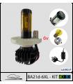 BA21D LED 6v, KIT  DE REMPLACEMENT.