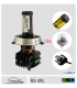 Ampoule Led R2-H5-3XL Code europeen Haute performance Jaune ou blanche