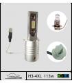 H3 LED 12v, Plug & Play, Série 4x PRO 100w*