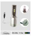 H3 LED, 4xl 100w*, Plug & Play