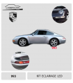 KIT éclairage LED  Complet pour PORSCHE 911 - 993.