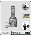 9005-HB3 LED, 9006-HB4, 4xl 100w*, Plug & Play