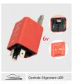 Centrale Clignotant LED -  6 à 12 v - Avec RETOUR tableau