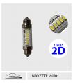 NAVETTE 6v,12v LED, Série 2D
