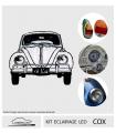 KIT éclairage LED  complet pour  vw COX 1301/1302 12V