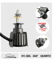 H1 LED QUARTZ, 210w*, RACING 360° - CAN BUS