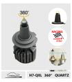 H7 LED 12V QUARTZ 210w*, RACING 360° - CAN BUS, Série 7QXL