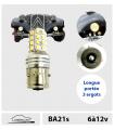 BA21s LED, 6 à 12v,  Ampoules Longue portée & Fog