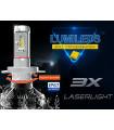Nouvelle 3X LASER LIGHT _ paire ampoules-H7-3XL - led-haute-puissance-Lumileds ZES Nouvelle génération