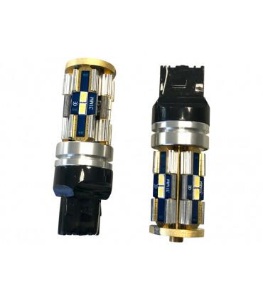 T20 LED - W5W-7440,12V- 30w- Can Bus BLANC