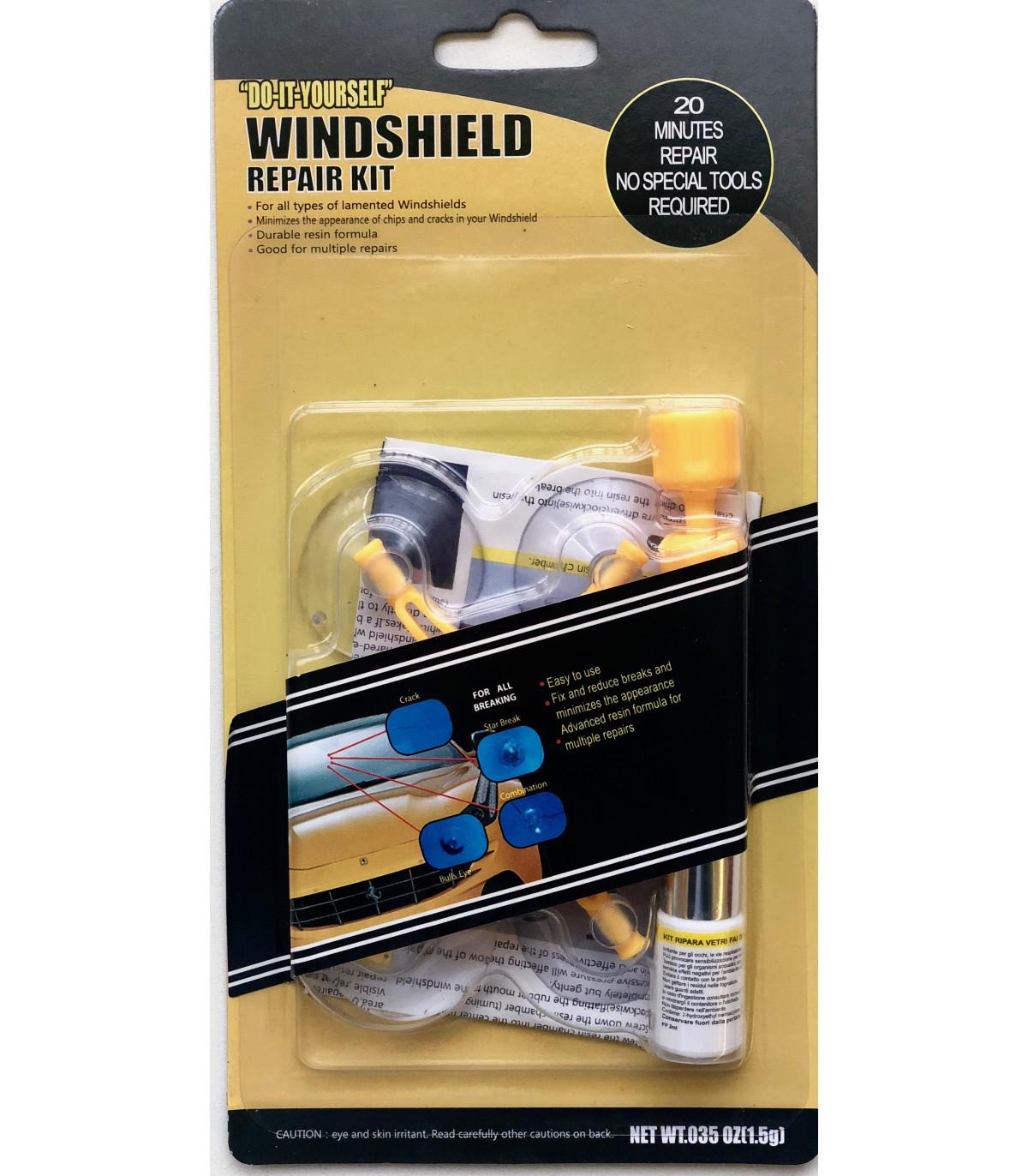 kit pour r paration d 39 impact sur un pare brise. Black Bedroom Furniture Sets. Home Design Ideas