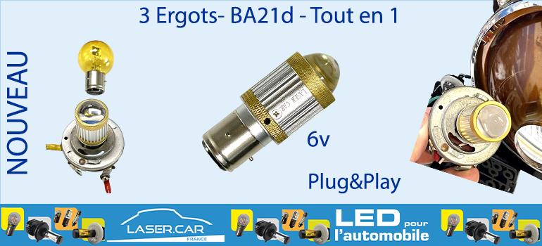 3 ERGOTS BA21D